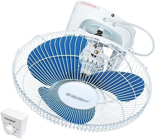 LJHA fengshan Ventilador de Pared - Ventilador Superior 360 Grados ...
