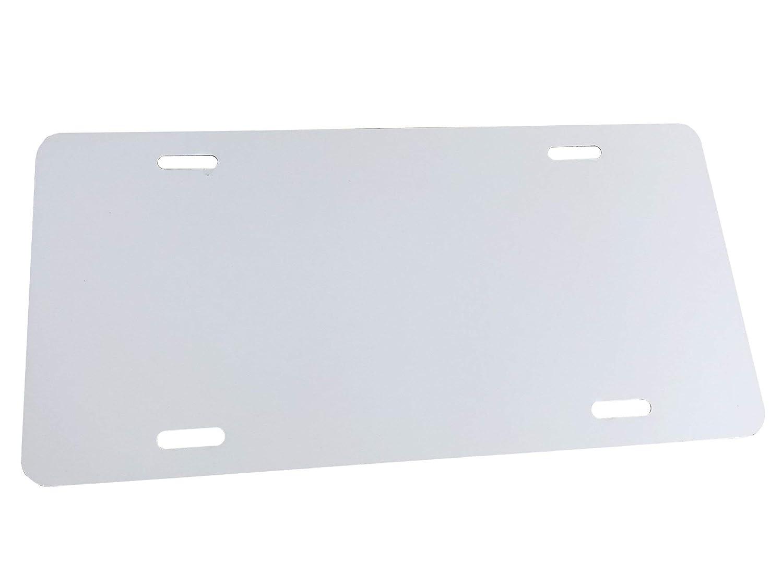 Partsapiens Corp - 12x6 Anodized Aluminum License Plate Blank Gauge .020 0.5mm