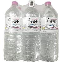 J-Creation Jejuyongam Jeju Lava Water, 2 l (Pack of 6)