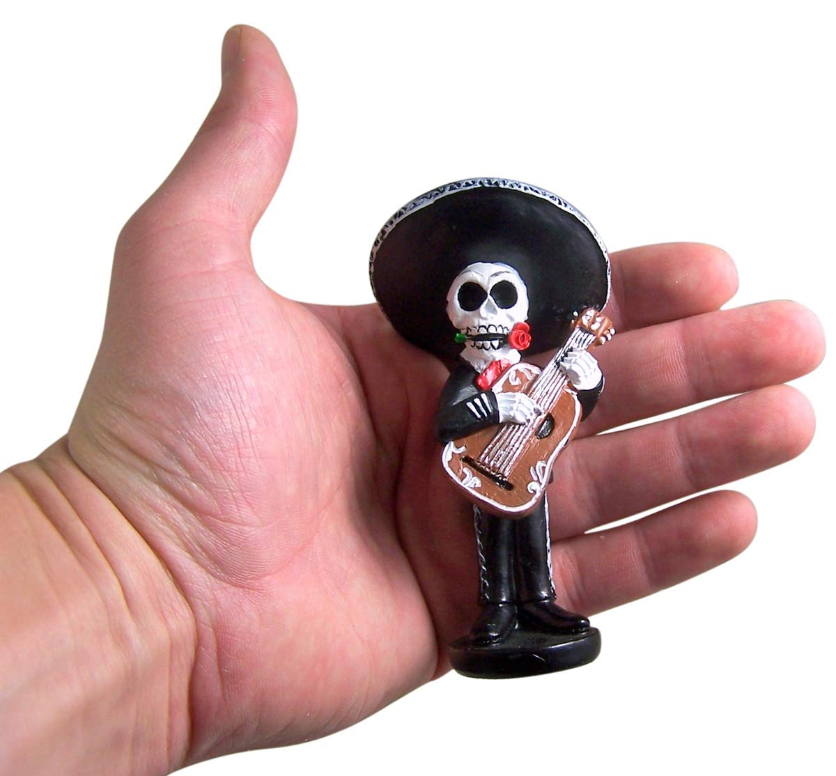 Amazon.com: Mini Skeleton Mariachi Band 4 Inch (Set of 4): Home & Kitchen