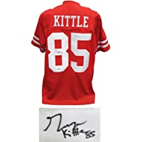 $249 » San Francisco 49ers George Kittle Signed Red Jersey - Beckett BAS