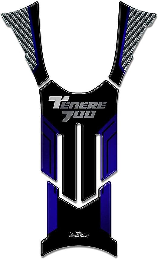 Protector de Depósito Adhesivo 3D Compatible con Yamaha Tenere 700 2019 Azul: Amazon.es: Hogar