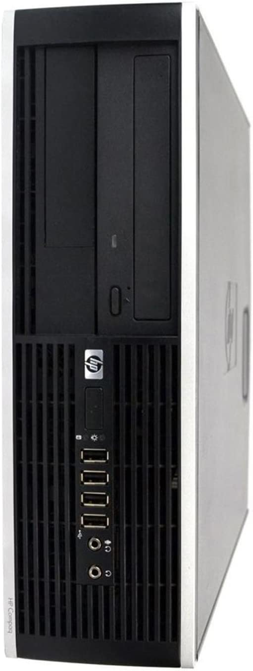 HP Desktop Computer 8100 SFF Intel Core i5-650 3.20GHz 4GB DDR3 Ram 250GB Hard Drive DVD Windows 10 Renewed