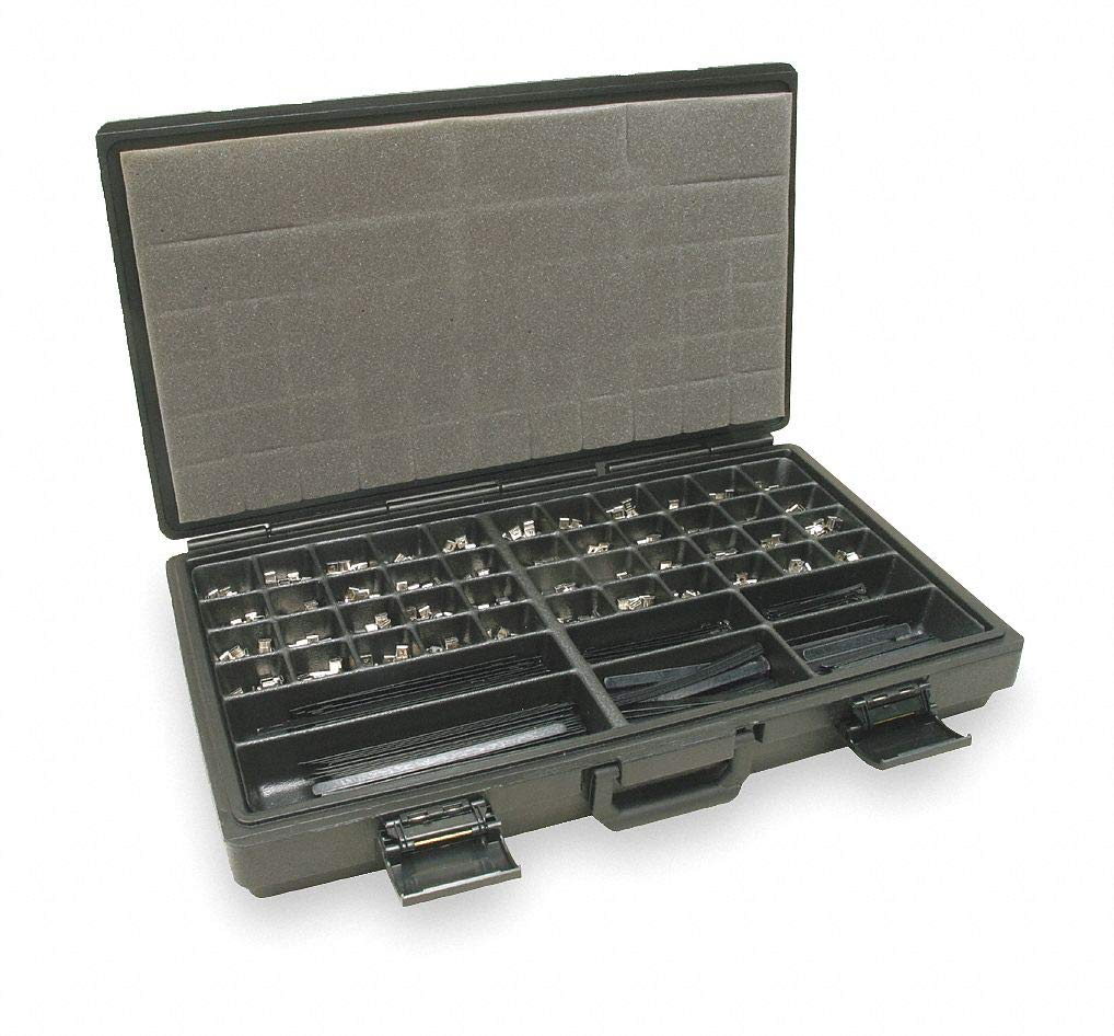 Stainless Steel Identification Character Kit; Number of Pieces: 1600