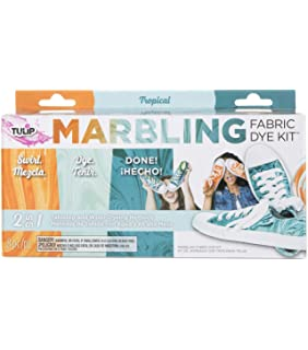 Amazon com: Tulip 38609 Marbling Kit Classic Fabric Dye
