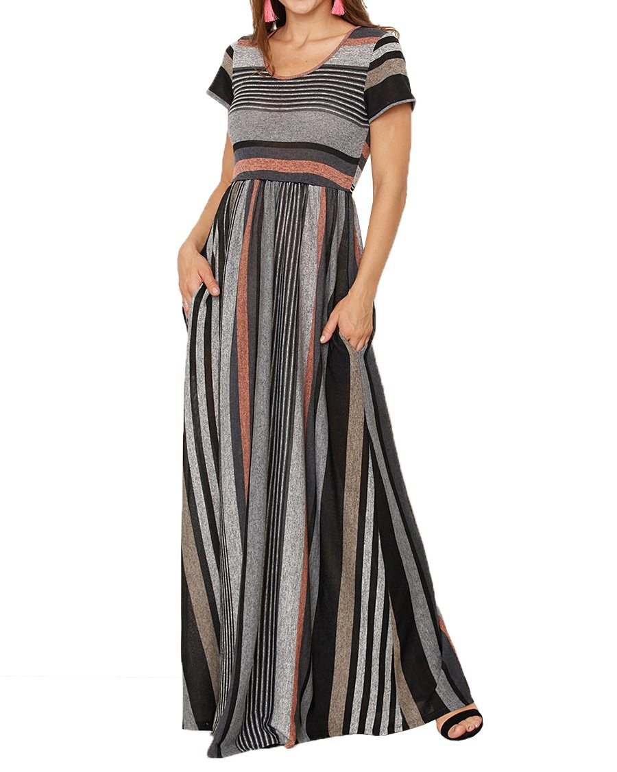 Minisoya Women Bikini Cover Up Side Slit Mesh Sheer Beachwear Summer Casual Bodycon Party Club Long Maxi Dress