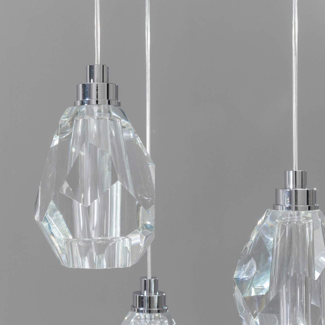 Mara KOSILUM - Lámpara LED de cristal de roca, IP20, clase ...