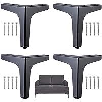 Meubelpoten met schroeven Bankpoten Metalen tafelpoot Metalen meubelpoten Meubelpoot voor kast Bank Tv kast Meubelpoten…