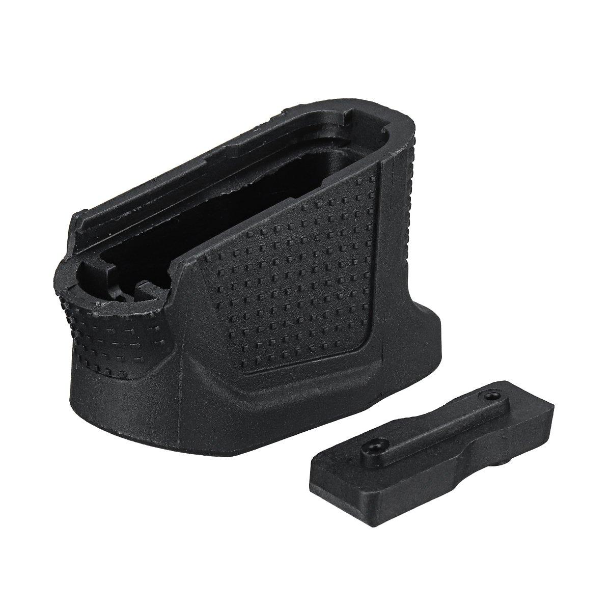 MYAMIA Ersatz-Erweiterte Zeitschriften Erweiterung Basis Platte Hinzuf/ügen Mit 2 Runden F/ür Glock 43 Tools Kit