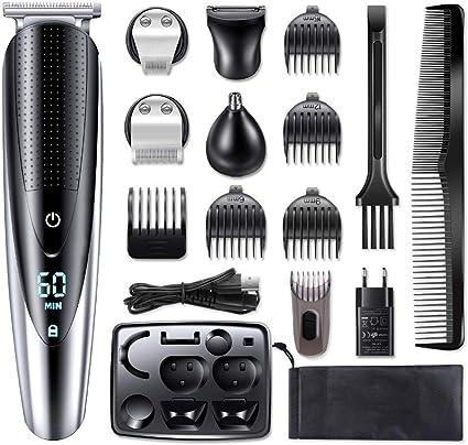 LJXD HATTEKER Profesional cortadora de cabello for hombres ...