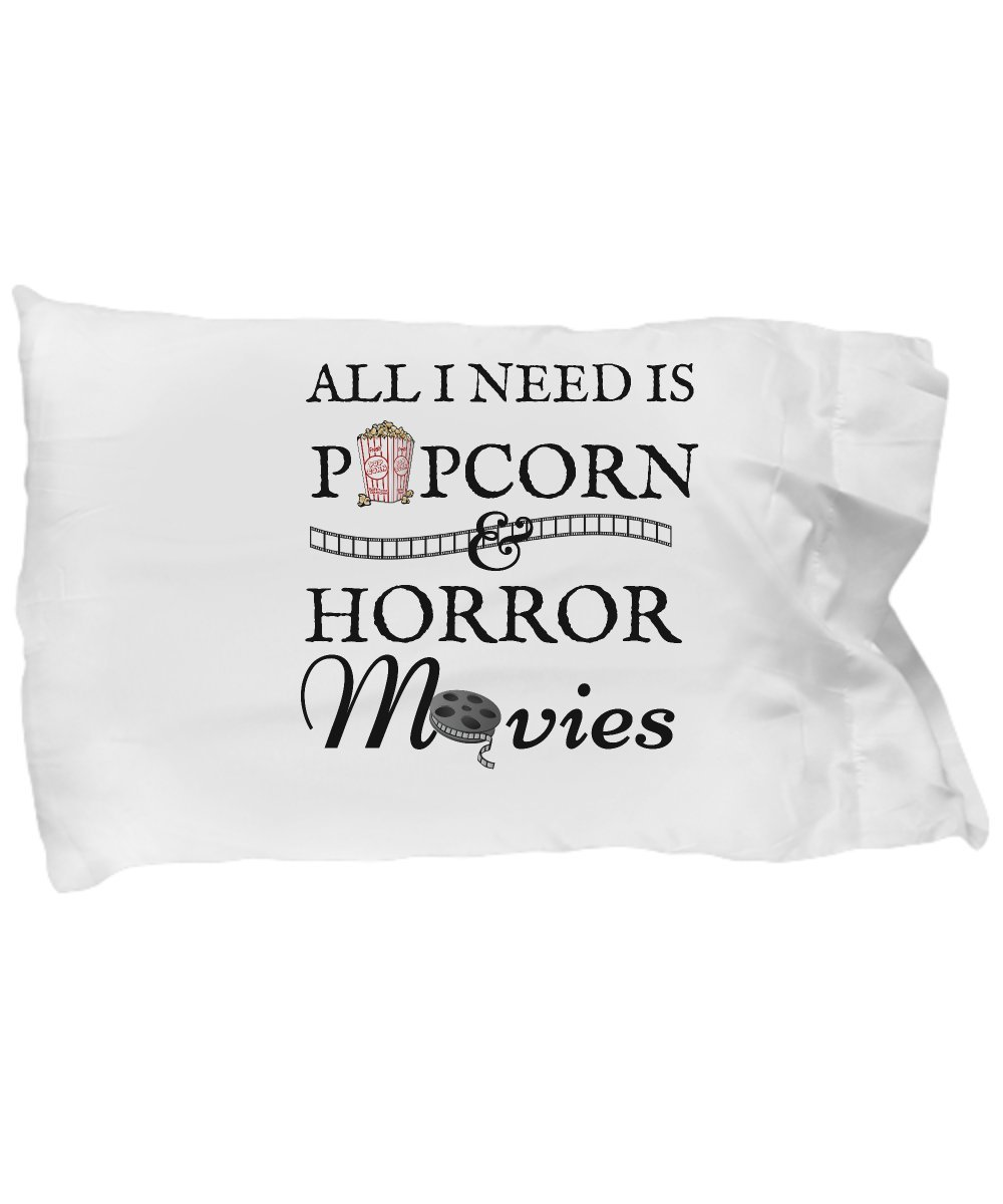 Love my Life All I Need Is Popcorn And Horror Movies