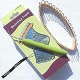 "Estone New 32 Peg 5.5""x2.2"" Knitting Loom Craft DIY Tool For Socks LegWarmers Hobby Kit"