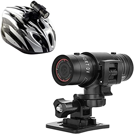 Hangang Mini Deportes cámara 1080p Full HD acción impermeable Deporte casco Moto Casco cámara de vídeo DVR AVI Video Camcorder ayuda 32 GB TF tarjeta ...