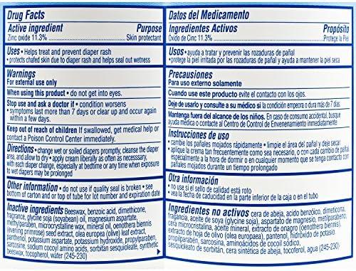 61k5EFiT1FL. AC - Balmex Complete Zinc Oxide Protection Diaper Rash Cream, 16 Ounce