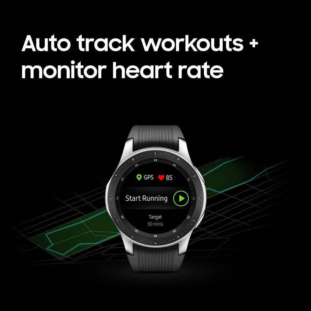 Samsung Galaxy Smartwatch (46mm) Silver (Bluetooth), SM-R800NZSAXAR - US Version with Warranty by Samsung (Image #9)