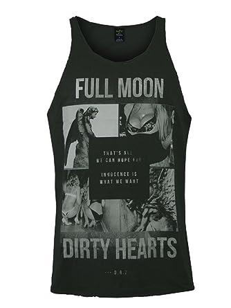 Death by Zero Hombre Diseñador Tank Top Shirt Camisetas - DIRTY HEARTS -XXL: Amazon.es: Ropa y accesorios