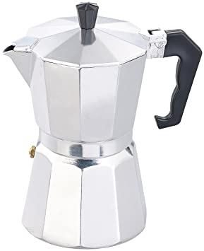 Cucina di Modena Espresso de eléctrica para 6 tazas, para Gas, Eléctrico de horno