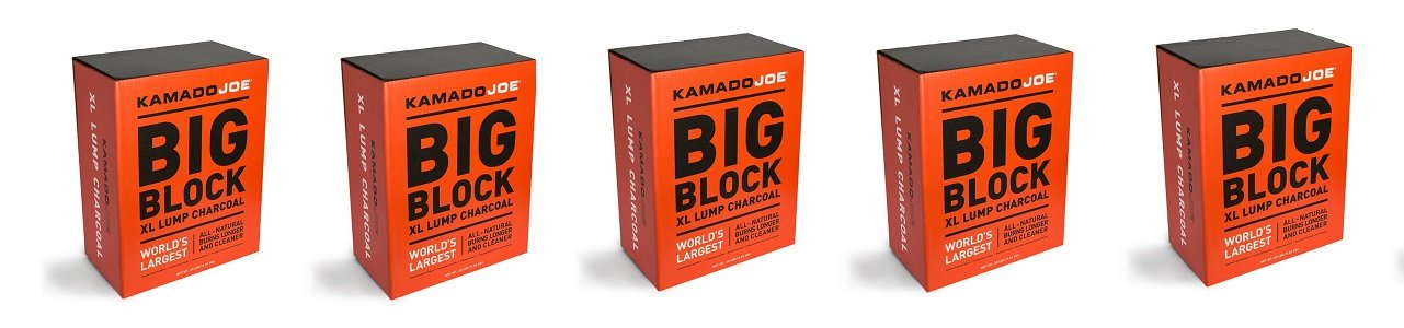 Kamado Joe, KJ-CHAR, Lump Charcoal (5-Pack) by Kamado Joe