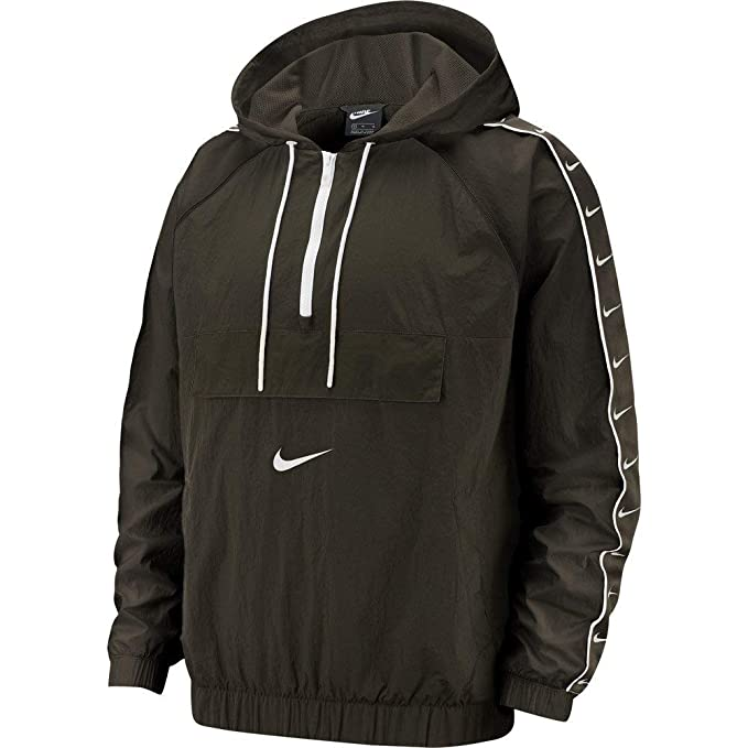 Nike Veste Coupe Vent Sportswear Swoosh Woven Vert M (Medium