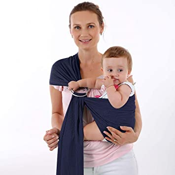 Amazon Com Accmor Baby Wrap Carrier Ring Sling Breathable Baby