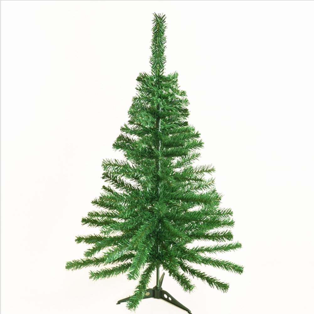 Elloapic Green Mini Encryption Christmas Tree for Office Family Christmas Party Decorations (90cm Ordinary Tree)