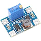 KKHMF 大電流 2A DC-DC SX1308 調節できる ブースター ステップ アップ 電源 昇圧モジュール-24V~2-28V 2A