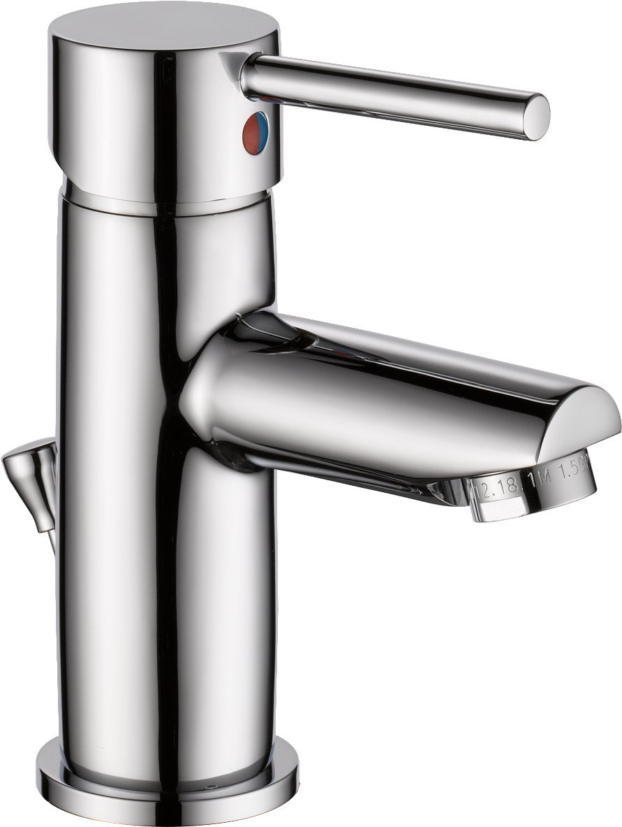 Delta Faucet Modern Single Handle Bathroom Faucet, Chrome ...