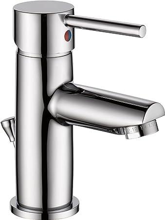 Delta Faucet Modern Single Handle Bathroom Faucet, Chrome
