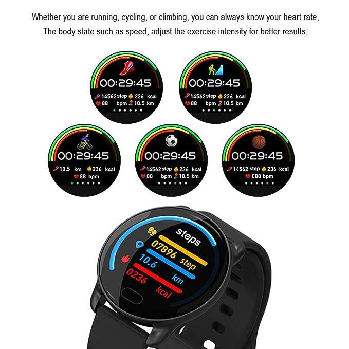 WLPT Aptitud SmartWatch, K9 Inteligente Reloj IP67 a Prueba de ...