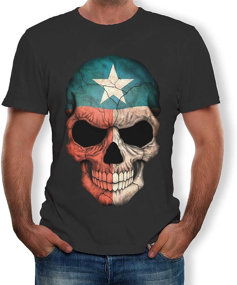 MEIbax Camisetas para Hombre de algodón de Manga Corta con ...