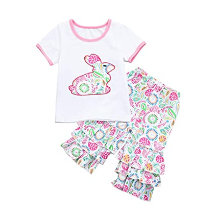 d1ec4a940 Image Unavailable. Image not available for. Color: Baby Clothes Girl Boy  Clearance Toddler Girls Easter ...