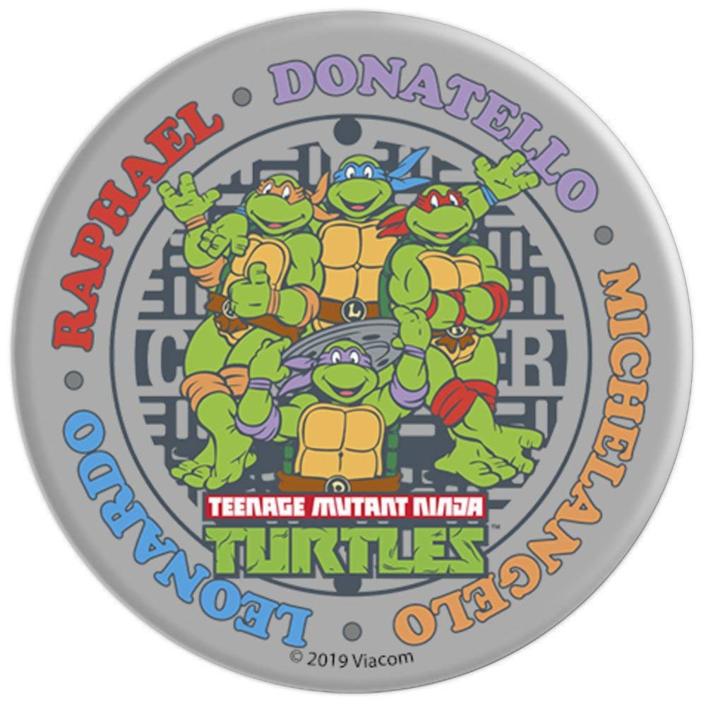 Amazon.com: Teenage Mutant Ninja Turtles Sewer Circle Name ...