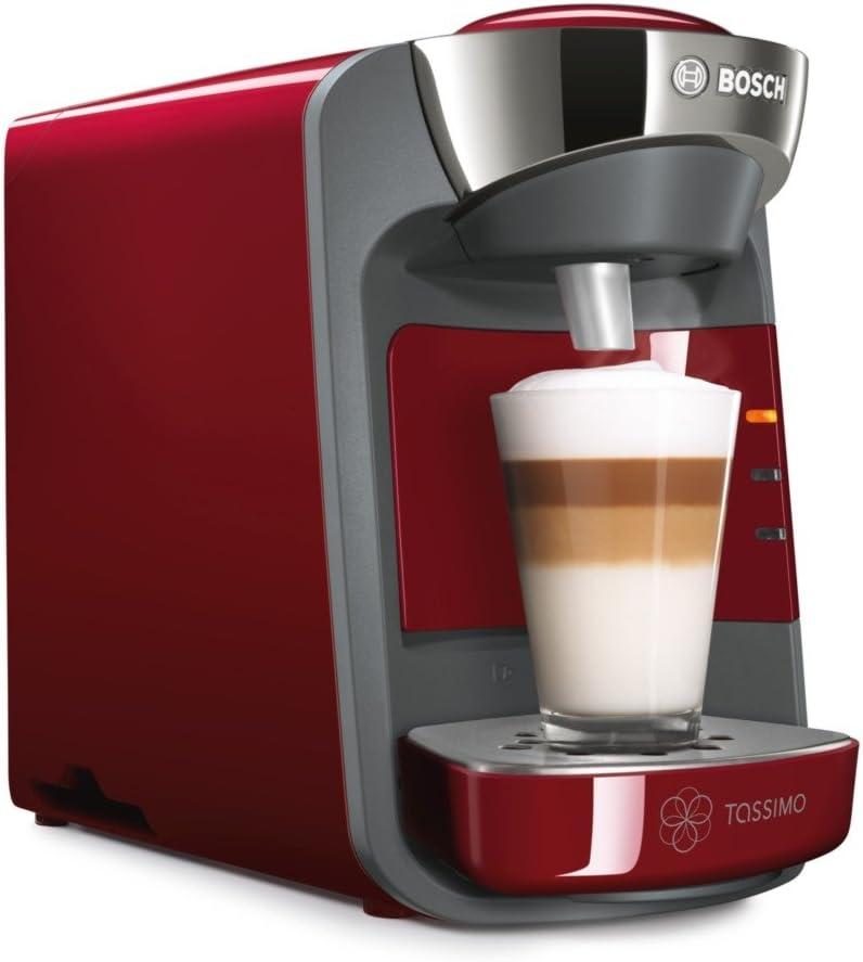 Bosch Tassimo Suny Tas3203gb Coffee Machine 1300 Watt 08 Litre Red