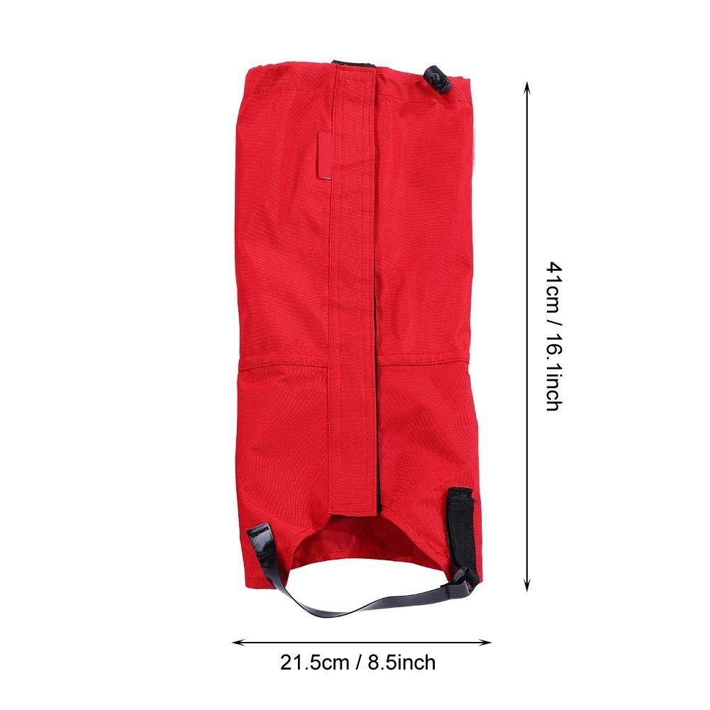 Tbest Gu/êtres de Randonn/ée /étanche Imperm/éables Legging Gaiter en Oxford pour Activit/és Ext/érieures Protection Contre Pluie ou Boue