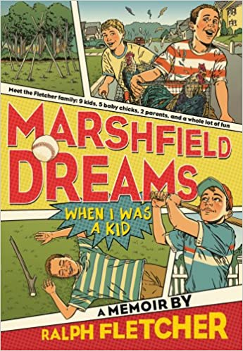 Image result for marshfield dreams by ralph fletcher