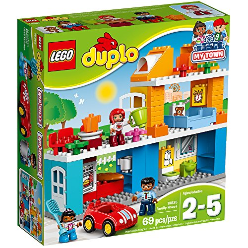 LEGO Duplo My Town Family House 10835 Building Block Toys for Toddlers JungleDealsBlog.com