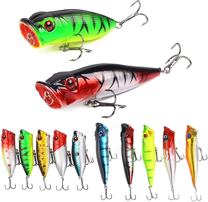 Black New Micro-Object Water Face Artificial Simulation Hard Lure Horses Mouth