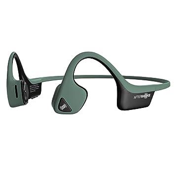 Aftershokz Trekz Air, Auriculares Bluetooth Inalambricos Conducción Osea, Banda para Cuello con microfono, Verde: Amazon.es: Electrónica