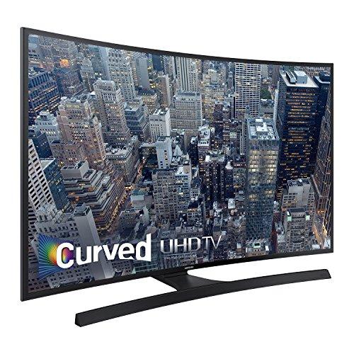 Samsung UN55JU670DFXZA 55-inch Curved 4K Ultra HD LED Smart TV, Black (Certified Refurbished)