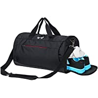 Gym Bag with Shoes Compartment,Sports Bag with Waterproof Pocket for Wet Towels,Travel Duffel Bag for Men and Women…