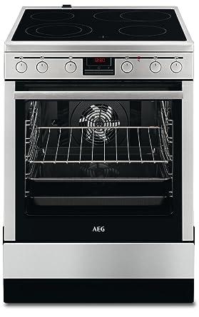 AEG 47056VS-MN - Cocina (Independiente, Acero inoxidable ...