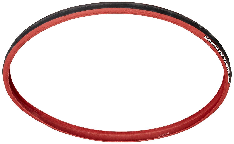 Michelin Pro4 Service Course Tires (Red 700c x 23-mm) [並行輸入品] B077QQLCZK