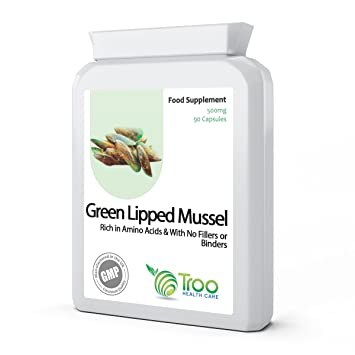 Green Lipped Mussel 500mg 90 Capsules