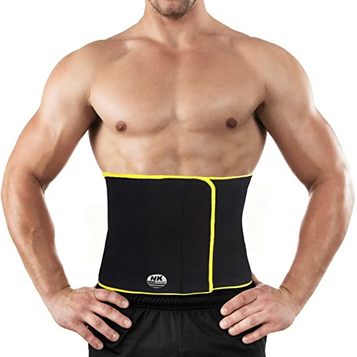 dd241b3bd8 Image Unavailable. Image not available for. Color  Waist Trimmer Weight  Loss Belt Sauna Sweat Waist Trainer Workout Sweat Enhancer Exercise  Adjustable Tummy ...