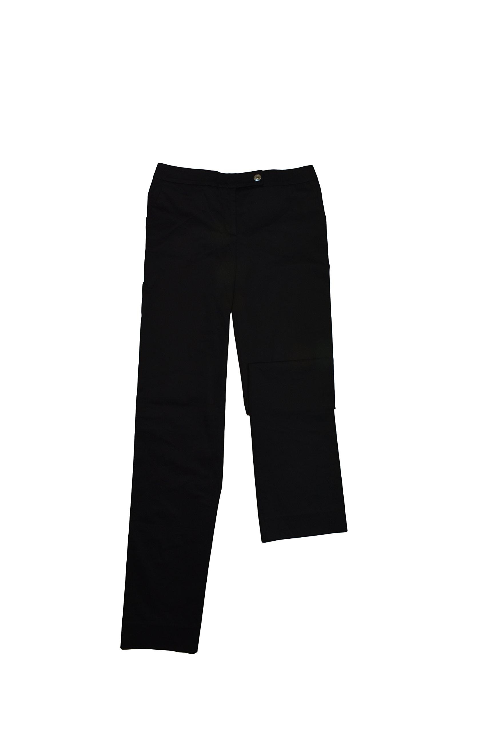 Salvatore Ferragamo Women's Black Cotton Pants Size 6