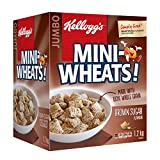 Kellogg's Mini-Wheats Cereal, Brown Sugar Flavor, 1.2kg (Jumbo Size)