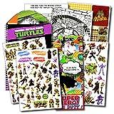 ninja turtles book set - Ninja Turtles Stickers Travel Activity Set Bundle with Stickers, Activities, and Superhero Door Hanger