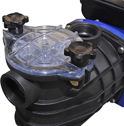 vidaXL Pool Einh/ängeskimmer Pumpe mit Adapter Poolskimmer Oberfl/ächenskimmer Oberfl/ächensauger Skimmer f/ür Pool Aufstellpools 16cm Kunststoff 1700L//h 2,8L