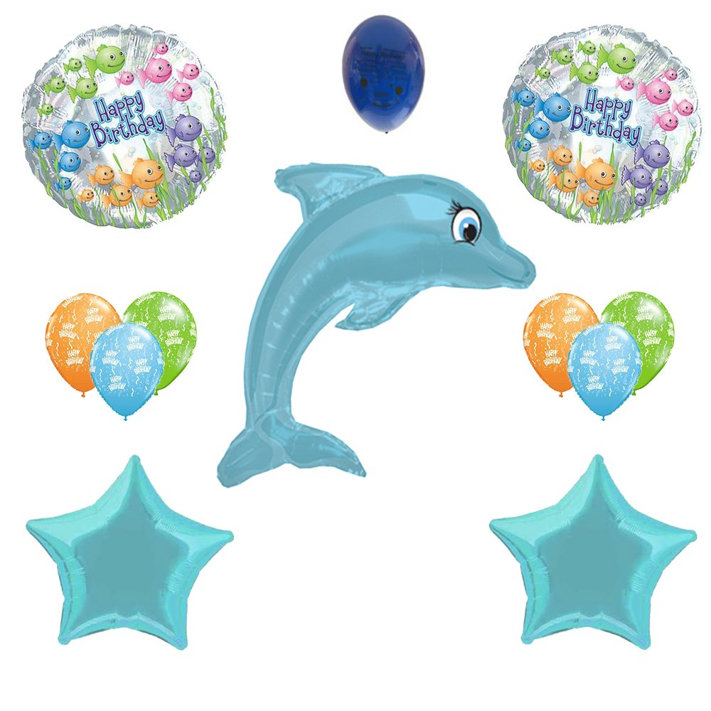 Amazon.com: Dolphin Decorations Balloon Bouquet: Toys & Games