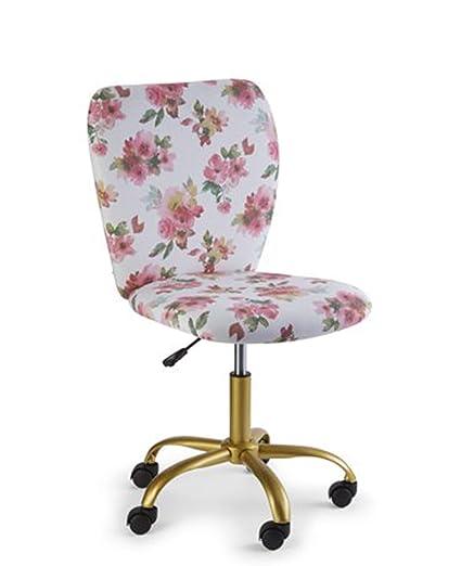 size 40 f4ff7 d3d11 Urban Shop 784857795318 Watercolor Floral Desk Chair Multi